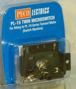 Peco PL15 Twin microswitch